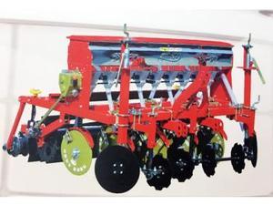 河北双印2BX-9型圆盘式小麦施肥收获机